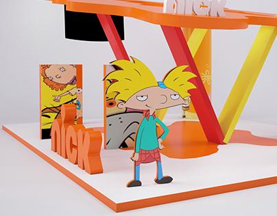 Nickelodeon Stand