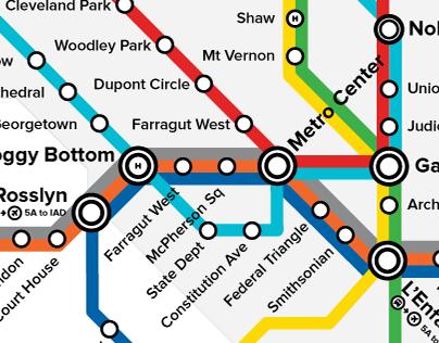 The DC Metro (Redesign)