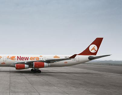 New Era Airlines Branding