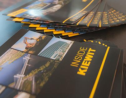 Inside Kiewit Brochure, 2014