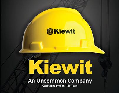 Kiewit 125th Anniversary Book Cover, 2008