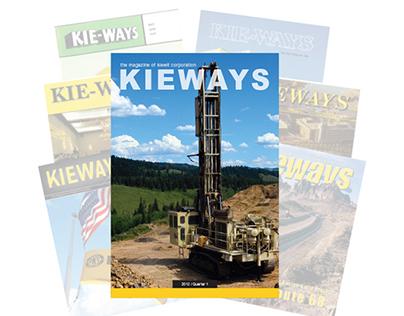 Kieways Magazine Cover Redesign, 2012