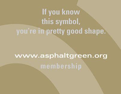 Advertising | Asphalt Green Membership