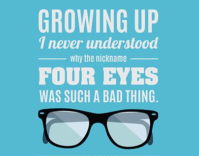 Four Eyes: Typography