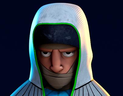 Hoodlighter. 2D / 3D
