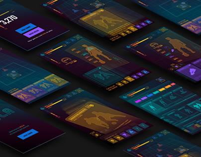 IOS Soccer Game Interface Design