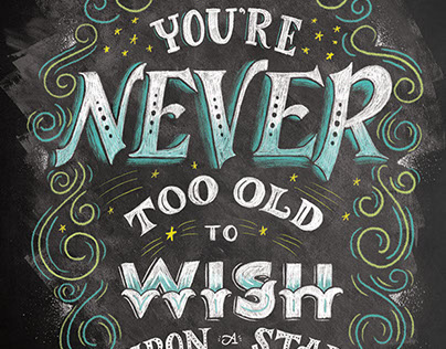 The Wonderlust Series: Never to Old