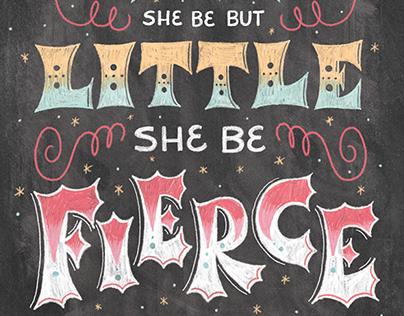 She Be Fierce