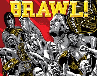 WWE Magazine BRAWL
