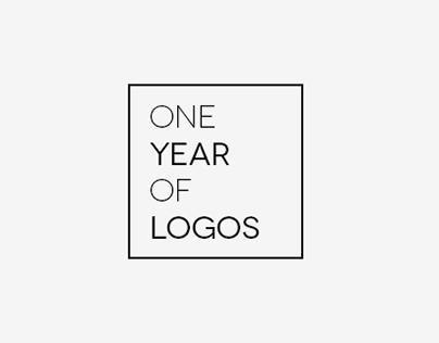 ONE YEAR OF LOGOS