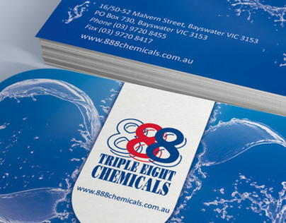 Stationery Design - 888 chemicals