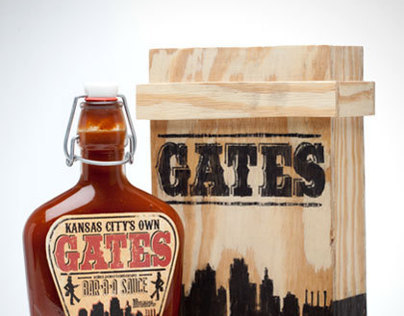 Gates BBQ Packaging
