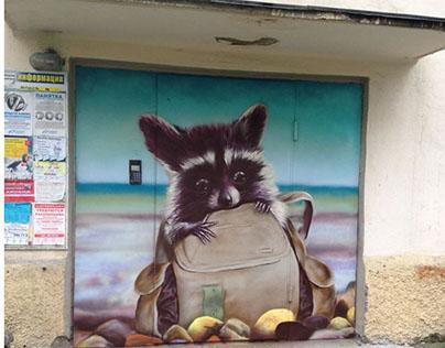 Just raccoon
