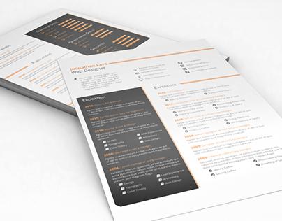 CV/Resume & Cover Letter Template