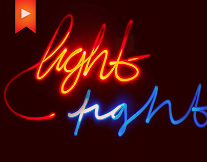 Lightfight Video - Typography and Monster