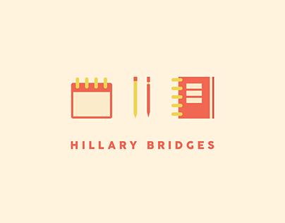 Hillary Bridges Logo Design
