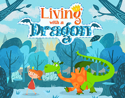 LIVING WITH A DRAGON  Character Design