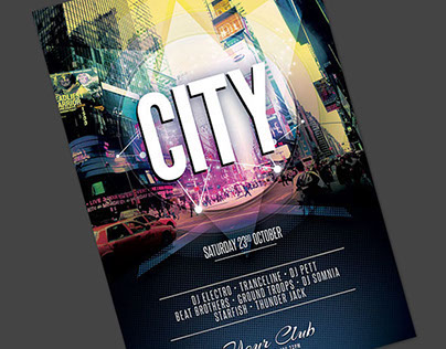City Flyer Template