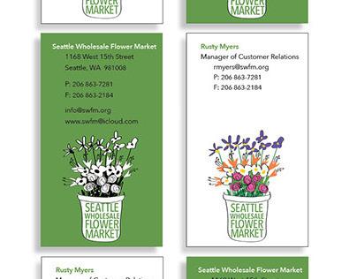 Stationery: Seattle Wholesale Flower Market