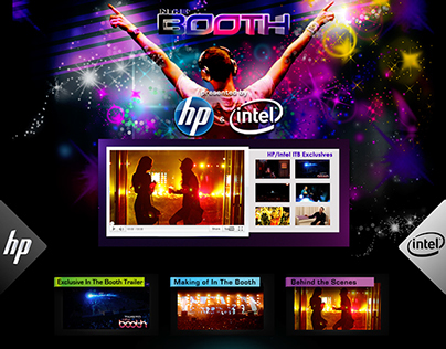 In The Booth/HP/Intel/Tiësto Landing Page