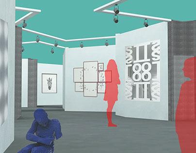 Conceptual Interior Design - Contemporary Art Fair