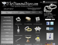 The Diamond Store | Joomla Ecommerce Site