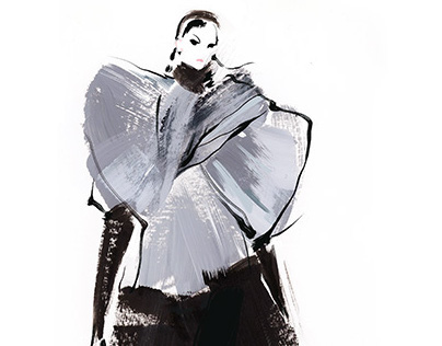 Fashion illustrations for Marc by Marc Jacobs F/W 2014