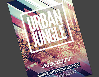 Urban Jungle Flyer