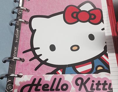 FiloFax Design Hello Kitty Theme