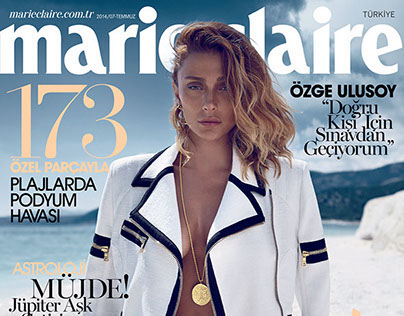 Marie Claire Turkey July 14