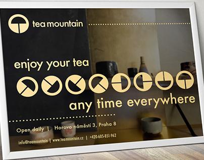 Tea Mountain - Logo, design manual & corporate identity