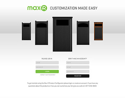 Max-R Product Configurator
