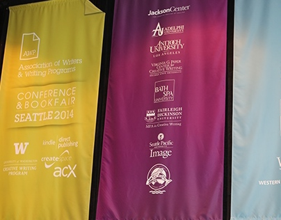 AWP Conference & Bookfair Seattle 2014 - Sign Designs