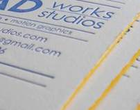 RadWorks Studios Business Cards