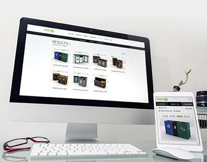 Max-R Website Redesign