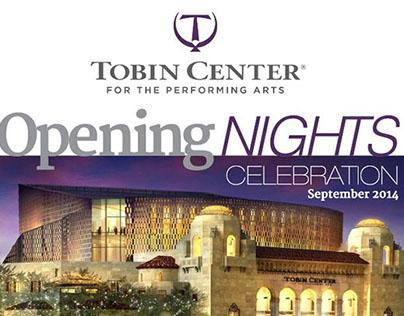 Tobin Center Opening Nights Celebration Ad