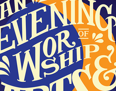 An Evening of Worship & The Arts Print + Digital
