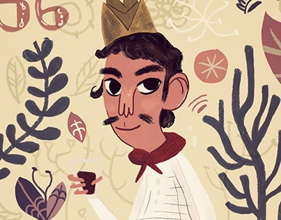 Illustrations for Aeromexico