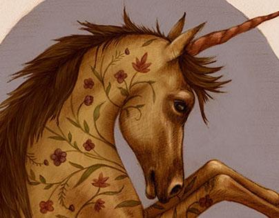 Floral Unicorn