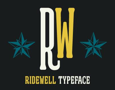 Ridewell Typeface