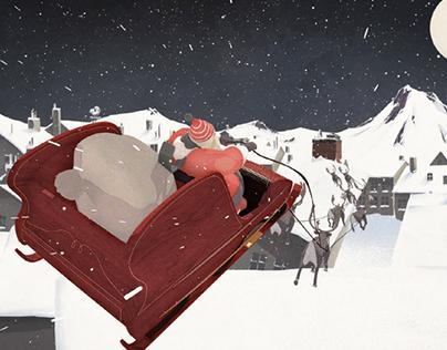 Santa's New Sleigh (Director's Cut)