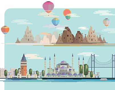 Sklife Magazine / Turkey Issue Cover