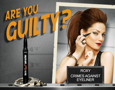 Benefit - Theyre Real Eyeliner Interactive Website