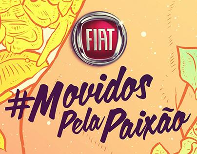 FIAT #MOVIDOSPELAPAIXÃO
