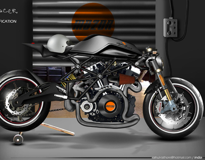 MO2OR motorbike design competition (cafe racer project)