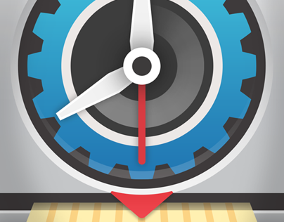 Virtual TimeClock Icons // Redcort Software