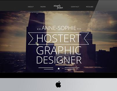 New Portfolio Website (work in progress)