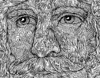 FEEL - Pen and Ink Doodle experiment