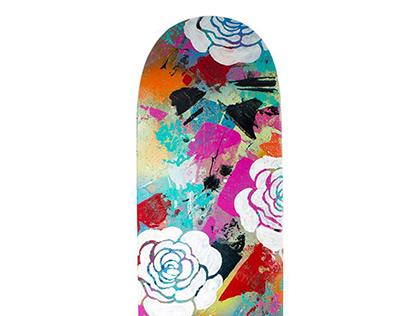 'ROSES' SHRED 2014 Skateboard Entry