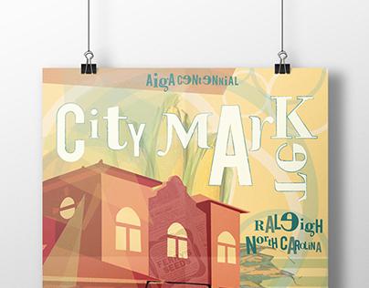 AIGA Raleigh Centennial Poster